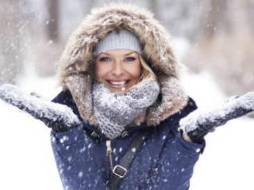 Правила зимнего ухода за кожей ребенка
